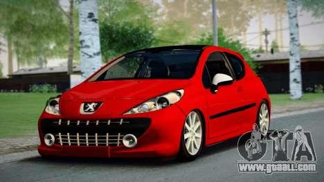 Peugeot 207 for GTA San Andreas