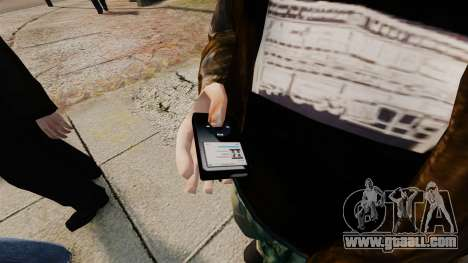 Updated MP3 player for GTA 4 second screenshot