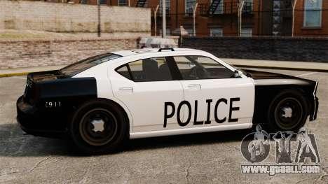 Buffalo police officer LAPD v1 for GTA 4 left view