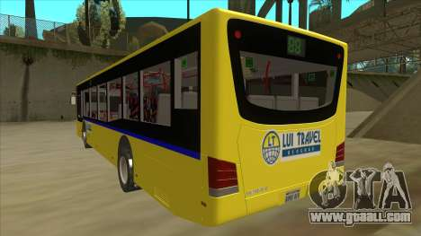 Bus Line 88 Novi Zeleznik for GTA San Andreas back view