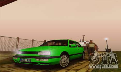 Volkswagen Golf Mk3 GTi 1997 for GTA San Andreas