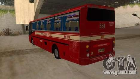 Bagong Lipunan Transit BM 384 for GTA San Andreas back view