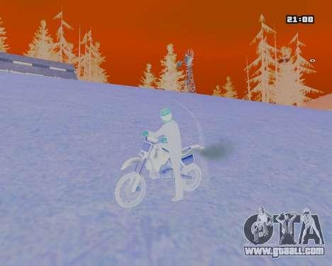 White NarcomaniX Colormode for GTA San Andreas third screenshot