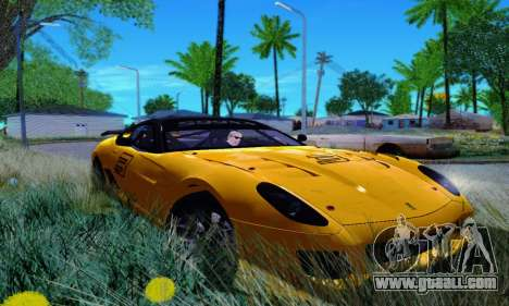 Ferrari 599xx for GTA San Andreas right view