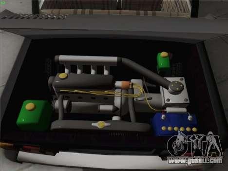 ZAZ 968 for GTA San Andreas upper view