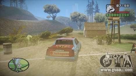 GTA HD Mod for GTA San Andreas