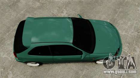 Honda Civic Al Sana for GTA 4 right view