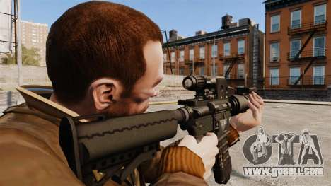 Tactical M4 v2 for GTA 4 second screenshot