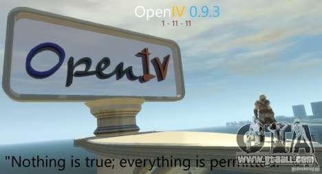 OpenIV 0.9.3 for GTA 4 second screenshot
