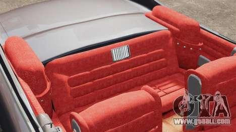 Cadillac Eldorado 1959 v1 for GTA 4 inner view