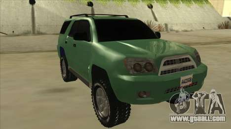 Toyota 4Runner 2009 v2 for GTA San Andreas