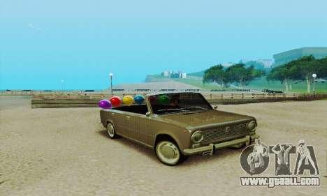 VAZ 2101 Convertible for GTA San Andreas