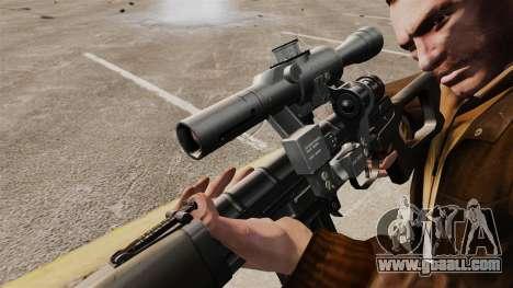 Dragunov sniper rifle v1 for GTA 4 forth screenshot
