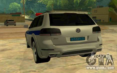 Volkswagen Touareg R50 for GTA San Andreas back view
