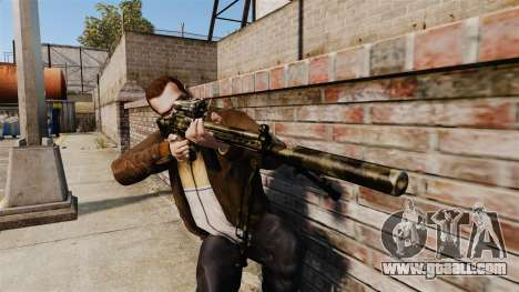 HK G3SG1 sniper rifle v2 for GTA 4 third screenshot