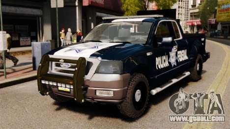 Ford F-150 De La Policia Federal [ELS & EPM] v2 for GTA 4
