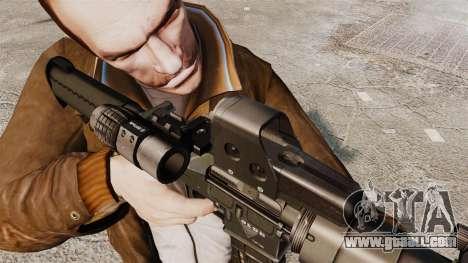 Tactical M4 v3 for GTA 4 fifth screenshot
