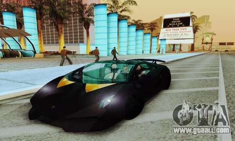 Lamborghini Sesto Elemento for GTA San Andreas right view