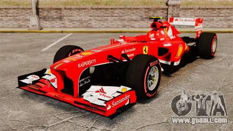 Ferrari F138 2013 v6 for GTA 4