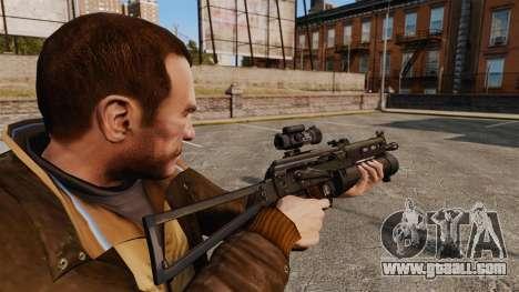Submachine gun pp-19 Bizon for GTA 4 second screenshot