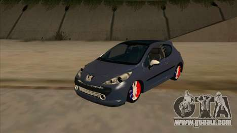 Peugeot 207 RC for GTA San Andreas