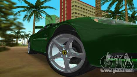 Ferrari 612 Scaglietti 2005 for GTA Vice City side view