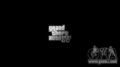 Updated menus and loading screens for GTA 4 third screenshot
