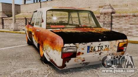 Tofas Serce Rusty for GTA 4