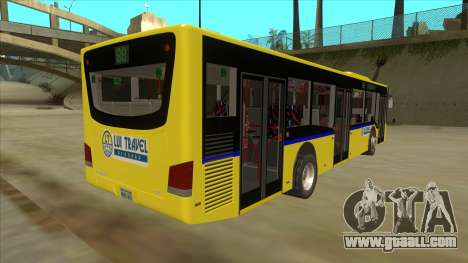 Bus Line 88 Novi Zeleznik for GTA San Andreas right view