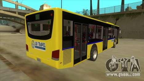 Bus Line 88 Novi Zeleznik for GTA San Andreas right view