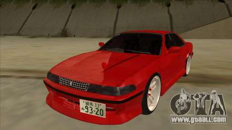 Toyota Chaser JZX81 Touge Style for GTA San Andreas