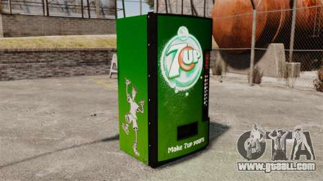 7 up vending machines for GTA 4 second screenshot