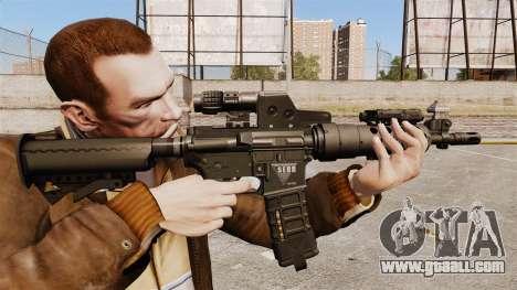 Tactical M4 v2 for GTA 4