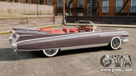Cadillac Eldorado 1959 v1 for GTA 4 left view