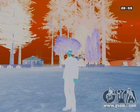 White NarcomaniX Colormode for GTA San Andreas second screenshot