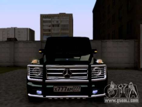 Mercedes-Benz G55 AMG for GTA San Andreas left view