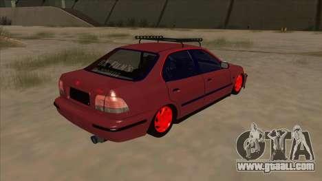 Honda Civic V2 BKModifiye for GTA San Andreas right view