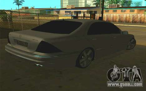 Mercedes-Benz S65 AMG W220 for GTA San Andreas left view