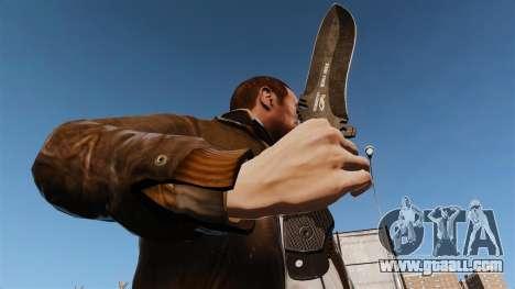 Tactical knife v6 for GTA 4 third screenshot