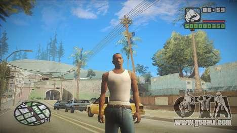 GTA HD Mod for GTA San Andreas second screenshot