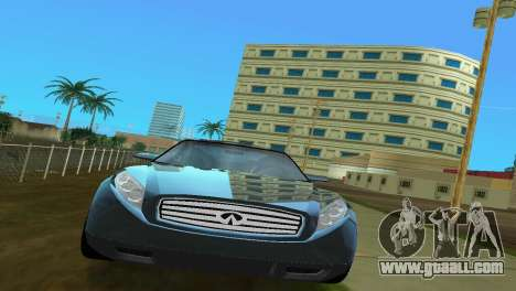 Infiniti Triant for GTA Vice City right view