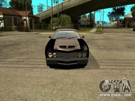 Remington for GTA San Andreas right view
