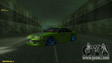 Nissan Silvia S14 CIAY for GTA San Andreas