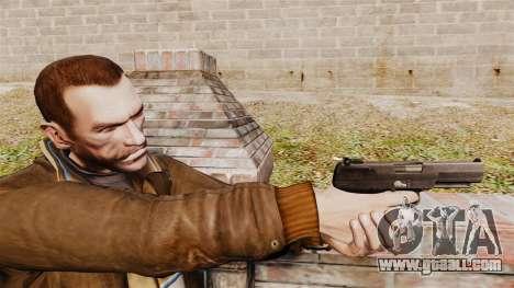 Self-loading pistol FN Five-seveN v2 for GTA 4