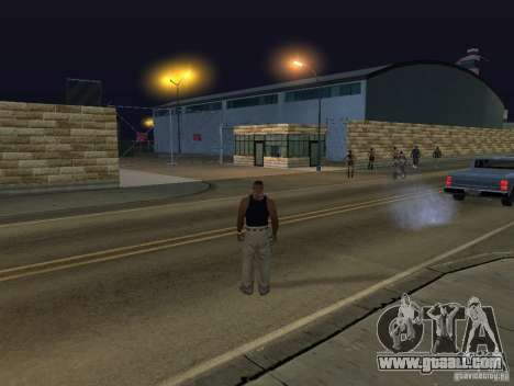 The new airport, Los Santos for GTA San Andreas fifth screenshot