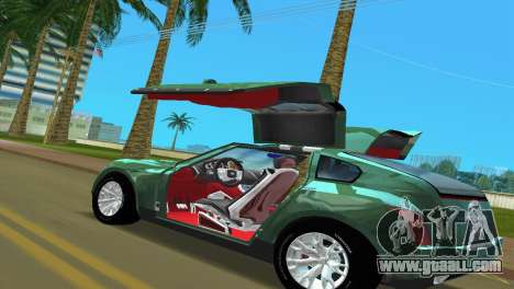 Infiniti Triant for GTA Vice City back left view