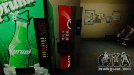 The Office vending machine Nescafe for GTA 4
