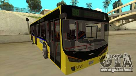 Bus Line 88 Novi Zeleznik for GTA San Andreas left view