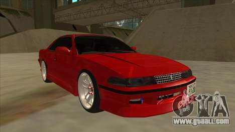 Toyota Chaser JZX81 Touge Style for GTA San Andreas left view