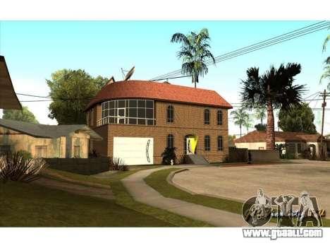New CJ House for GTA San Andreas second screenshot